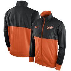 Baltimore Orioles Nike Full-Zip Track Jacket - Black