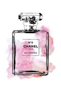Chanel poster, 24x36 Coco Chanel No5