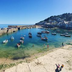 A lovely sunny Sunday spent in the picturesque fishing village of Mousehole…