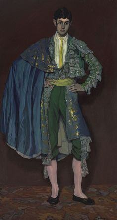 Ignacio Zuloaga: El Segovianito (1912). http://monsieurlabette.tumblr.com/post/42014280763/brazenswing-ignacio-zuloaga-el-segovianito-1912