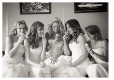 Best Friends Bridal Shoot! So much fun and just another reason to shimmy into your wedding dress!