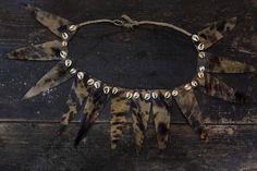 Irian Jaya Tortoise and Shell Necklace