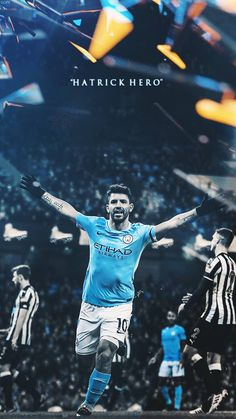City 4 #SergioKunAgüero  Sergio #Kun #Agüero  Sergio #KunAgüero Sports Posters, Football Wallpaper, Manchester City, Cool, Football Players, Rey, Soccer, Football Squads, Hs Sports