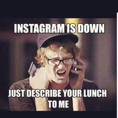 Instagram is down?!