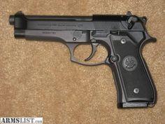 M9 Beretta 9mm like carried in Desert Shield and Desert Storm.