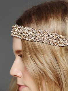 Wide Sequin Headband
