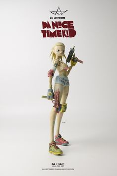 Da Nice Time Kid from DA x 3ART 1/6th ZEF SET, which will be available for…