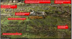 A damn close run thing: this restored model shows the full extent of the Battle of Waterloo and how many did not survive the day (Daily Mail Online) Waterloo Film, Waterloo 1815, Battle Of Waterloo, Bataille De Waterloo, London Tourist Guide, Hundred Days, Napoleonic Wars, Toy Soldiers, British Army