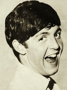 """Paul's headshot from the yearbook of Really Enthusiastic But Totally Heterosexual Musicians High School, class of 1964. Senior superlatives voted him """"Most likely to out-diva the competition"""". (photo submitted by goeasysteplightly)"""
