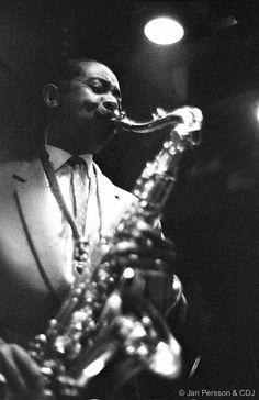Don Byas Jazzhouse Montmartre Copenhagen 1962