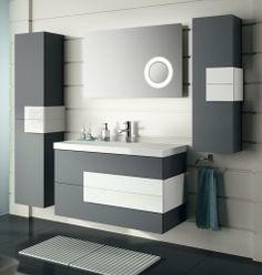 By installing a corner bathroom sink cabinet design, a stylish interior element appears. Bathroom Vanity Store, Bathroom Vanities For Sale, Corner Sink Bathroom, Bathroom Sink Design, Bathroom Sink Cabinets, Bathroom Interior Design, Bathroom Furniture, Modern Bathroom, Small Bathroom