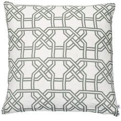 Nina Kullberg - Paris London Fog Cushion (340 ILS) ❤ liked on Polyvore featuring home, home decor, throw pillows, parisian home decor, paris throw pillows, patterned throw pillows, paris home decor and feather pillow inserts