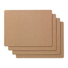 """AVSKILD Place mat IKEA ($4/4 NICE PINUP BOARD) Protects the table top surface and reduces noise from plates and flatware 16 ½ x 12 ½"""""""