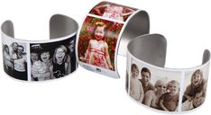 This is a site where you can buy a photo bracelet. This can also be good for children with anxiety/autism that need to keep the people they love near. Pair with some information and it's also a good ID bracelet, giving first responders a pic of immediate family members in case a child gets lost.