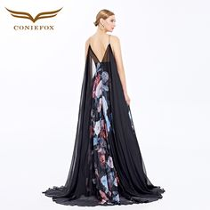 2016 Coniefox Latest Bouquet Collection Backless Lotus Leaf Sleeves Sweep Train Evening Prom Long Dresses 38080 - Coniefox