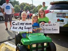 Heartland Credit Union at the Platteville Dairy Days Parade