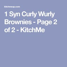 1 Syn Curly Wurly Brownies - Page 2 of 2 - KitchMe Slimming World Brownies, Slimming World Cake, Easy Slimming World Recipes, Slimming World Desserts, Slimming World Syns, Chocolate Chip Muffins, Chocolate Treats, Curly Wurly Brownies, Weetabix Recipes
