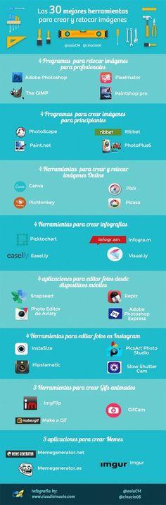 30 herramientas para crear y retocar imágenes | Rob@tips | Scoop.it