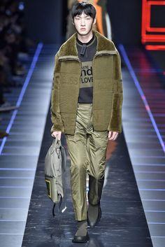 Fendi Milan Menswear Fall Winter 2017 - January 2017
