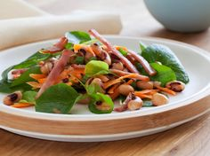 Black-Eyed Pea Salad with Canadian Bacon from FoodNetwork.com