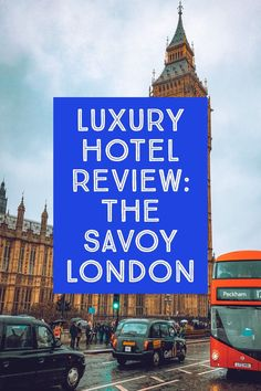 A Luxury Hotel Review of the Savoy London: The Savoy has Great Gatsby glamour with modern touches that most people desire. Its location, great food and drinks this is the place to stay in London. via @passports2life