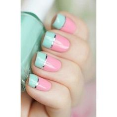 15 Diseños de uñas rositas sólo para chicas chic