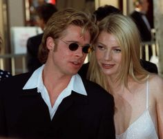 But her future husband Brad Pitt was dating Gwyneth Paltrow at the time. Gwyneth Paltrow, Hollywood Couples, Celebrity Couples, Celebrity News, Brad Pitt, Best Supporting Actor, What The World, Pitta, Fashion Articles