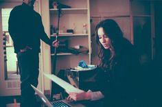 Troian working on set! | Pretty Little Liars