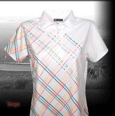 Ladies Short Sleeve Golf Shirt by Bermuda Sands Apparel - Tango.  Buy it @ ReadyGolf.com Bermuda Sands, Womens Golf Shirts, Ladies Golf, Tango, Lady, Sleeve, Mens Tops, Style, Fashion