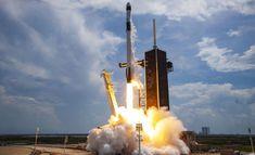 SpaceX, Bugün 60 Starlink İnternet Uydusunu Fırlattı - Uzayboslugu.com Elon Musk, Spacex Dragon, Les Satellites, Spacex Falcon 9, Falcon 9 Rocket, Spacex Launch, Rocket Launch, Nasa Astronauts, Kennedy Space Center