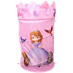 Disney Sofia the First Pop-Up Hamper with Dome Lid, Purple $9.96