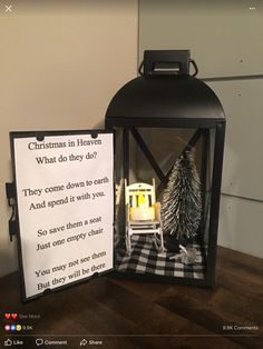Unique DIY Christmas Lantern Decoration Ideas / Inspo - Hike n Dip Here are unique DIY Christmas Lantern Decor Ideas. These Christmas Lantern Decor with Ornaments, Ribbons & Christmas Village scene are really very beautiful Diy Christmas Decorations, Lantern Christmas Decor, Christmas Chair, Xmas Crafts, Lantern Crafts, Homemade Christmas, Diy Christmas Gifts, Christmas Projects, Christmas Holidays