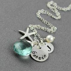cute best friend jewelry | Necklace, Best Friends Necklace, Sterling Silver Monogram Necklace ...