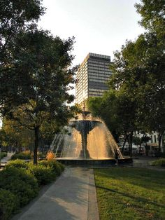 Gore Park. Photo taken by Freda Mans. #GorePark #Fountain #Downtown #Hamilton #Ontario