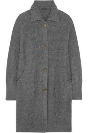 Theory Kenchy wool-blend cardi-coat