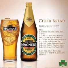 Magners Cider Bread - oh so yummy!