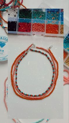 Homemade Bracelets, Diy Bracelets Easy, Summer Bracelets, Bracelet Crafts, Homemade Jewelry, Bead Jewellery, Seed Bead Jewelry, Cute Jewelry, Beaded Jewelry