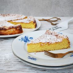 Lemon Recipes, Sweet Recipes, Citroen Cake, Baking Bad, Biscuits, Healthy Diet Recipes, Piece Of Cakes, No Bake Cake, Baked Goods