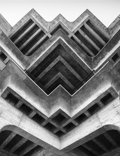 GEISEL LIBRARY | UNIVERSITY OF CALIFORNIA | LA JOLLA | SAN DIEGO | CALIFORNIA | USA: *Built: 1968-1970; Architect: William Pereira*