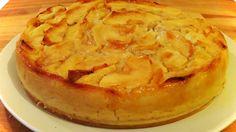 tarta de manzana muy facil