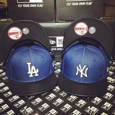 MLB Denim Style Leather Visor New Era 9FIFTY Snapback Small Medium  newera   neweracap  snapback  9fifty ffca39f8374