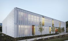 Leawood Speculative Office: perforated metal screens control solar heat gain | Inhabitat - Green Design, Innovation, Architecture, Green Building