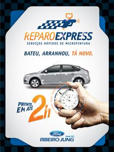 EXPRESS REPAIR - RIBEIRO JUNG on Behance