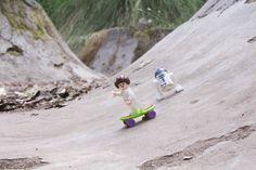It's sunday morning! Time to skate against the empire! #lego #skateboarding #sunday