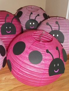 Pink Ladybugs Birthday Party Idea
