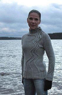 Maijapaita - Maija Pullover by Mari Muinonen / tikru Pattern is available both Finnish and English.