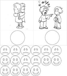 Emotionen - Arbeitsmaterial - Elegir Accion Buena - Mala Visual Learning, Kids Learning, 5 Senses Craft, Sensory Activities Toddlers, Islam For Kids, Classroom Rules, Emotional Development, Feelings And Emotions, Early Education
