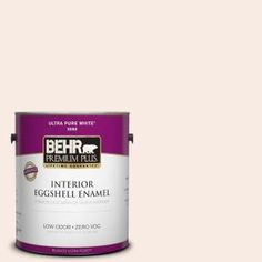 BEHR Premium Plus, 1-gal. #210E-1 Bella Pink Zero VOC Eggshell Enamel Interior Paint, 205001 at The Home Depot - Tablet