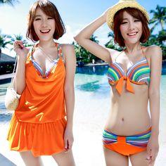 $27.96 (Buy here: https://alitems.com/g/1e8d114494ebda23ff8b16525dc3e8/?i=5&ulp=https%3A%2F%2Fwww.aliexpress.com%2Fitem%2FNew-Fashion-Women-Three-Pieces-Bikini-Swimwear-Print-Striped-Halter-Bandage-Biquini-Beach-Wear-Push-Up%2F32691810535.html ) New  Women Three Pieces Bikini Swimwear Print Striped Halter Bandage Biquini Beach Wear Push Up Biquini Bikinis DB249 for just $27.96