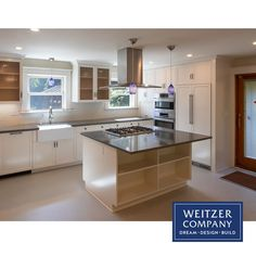 This stately Portland craftsman had a full kitchen update with custom in house cabinetry featuring mixed solid and glass cabinet fronts, panel front appliances, a farm style sink and quartz countertops. This large open kitchen also features a cooking island with a free standing hood.  @pentalquartz @boschhomeus #designbuild #pdxcarpenter #pdxcontractor #pdxdesign #pdxremodel #portlandcontractor #remodel #remodeledkitchen #interior #interiordesign #interiors #farmhousesink #farmstylesink… Farm Style Sink, Large Open Kitchens, Cabinet Fronts, Craftsman Kitchen, Quartz Countertops, Updated Kitchen, Building Design, Portland, Appliances